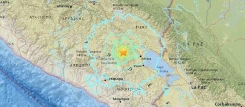 Violentissima scossa di terremoto in Perù: si temono danni e vittime
