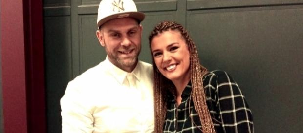 A cantora Romana está grávida de Santiago