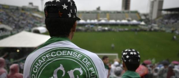 A despedida aos mortos da Chapecoense, foi neste sábado (4), na Arena Condá.