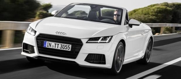 Audi TT Roadster, conversível de 230 cv, está entre as opções de compartilhamento