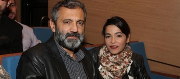 Domingos Montagner e Luciana Lima têm três filhos