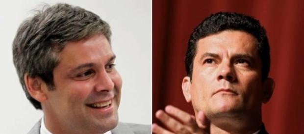 Lindbergh Farias e Sérgio Moro tem divergência no Senado