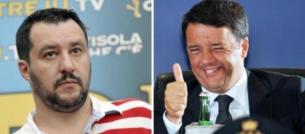Matteo Salvini e Matteo Renzi: La strana coppia anti-fannulloni ... - meltybuzz.it