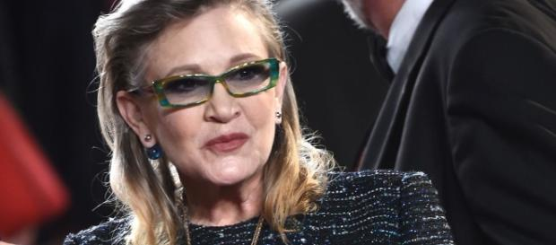 Star Wars actress Carrie Fisher dead after massive heart attack/Photo via mirror.co.uk