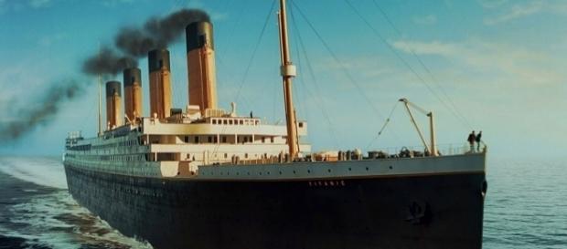 Titanic, transatlântico que naufragou em 1912.