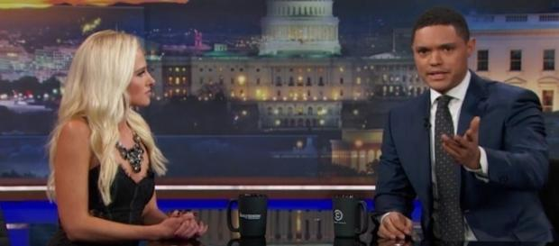 "Tomi Lahren on ""The Daily Show,"" via YouTube"