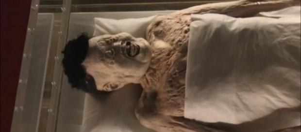 Xin Zhui viveu há cerca de 2.100 anos (Crédito:YouTube/THEREAPERFILES)