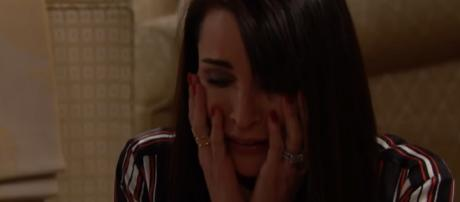 Rena Sofer as Quinn Fuller-Forrester [Image Credit: YouTube/CBS]