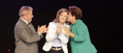 Endividada, senadora Gleisi Hoffmann pediu socorro para a ex-presidente Dilma