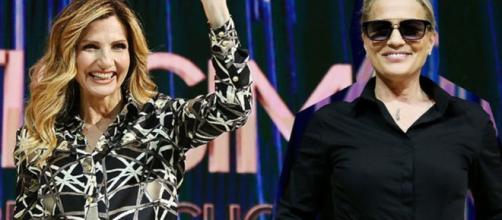 Lorella Cuccarini e Heather Parisi, insieme nelle show Nemicamatissima