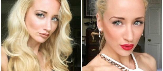Modelo Elaine Ford acusa o ex-namorado de violência