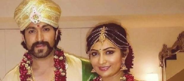 Radhika Pandit and Yash wedding (Youtube screen grab)