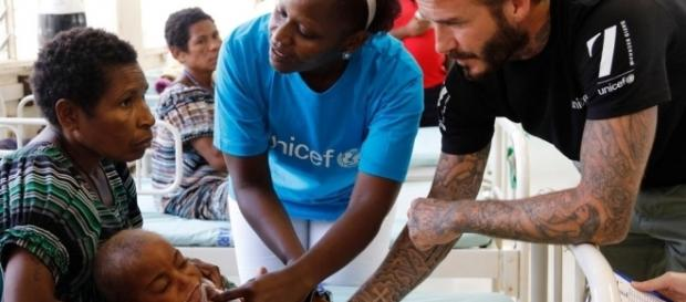United Nations News Centre - UNICEF Goodwill Ambassador David ... - un.org