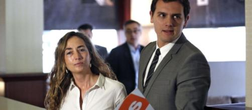 Carolina Punset y Albert Rivera