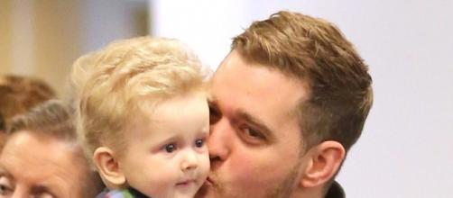 EXCLUSIVE* Michael Buble and his son Noah make it home **NO Canada ... - pinterest.com