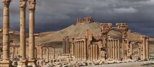 Il sito archeologico di Palmira: la città torna ad essere nel mirino dell'Isis