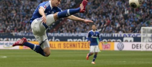 Julian Draxler ai tempi dello Schalke 04