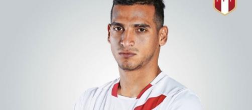 Miguel Trauco está a detalhes de acerto com o Flamengo (Foto:Reprodução/Twitter)