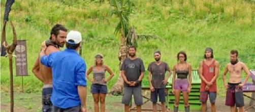 'Survivor' final six [Image credit: TV Weekly Now on Twitter]