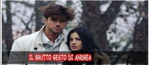 Uomini e Donne news: il brutto gesto di Andrea Damante scatena i fan, Giulia lo difende