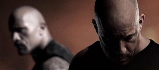 Desta vez, Toreto (Diesel) e agente Hobbs (Johnson) estão em lado opostos na trama