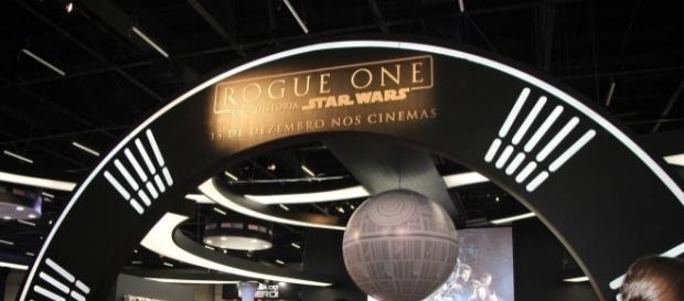 Divulgação do filme Rogue One: uma História Star Wars na CCXP deste ano.