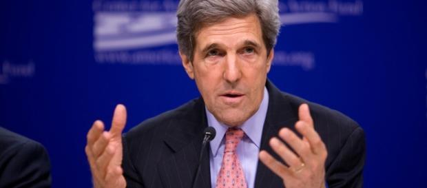 Il segretario di Stato americano, John Kerry