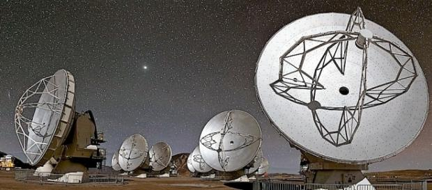 Image of ALMA courtesy of flickr.com, creative commons license