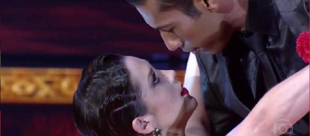 Sophia Abrahão dança na final de reality - Foto/Globo