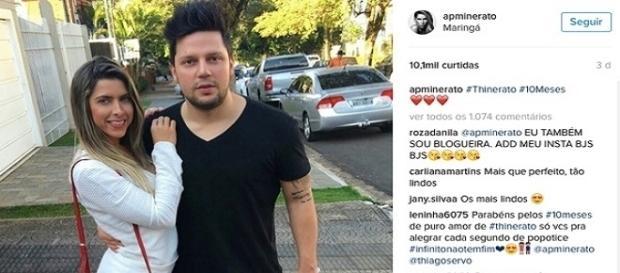 Thiago Servo foi preso por não pagar pensão de sua filha