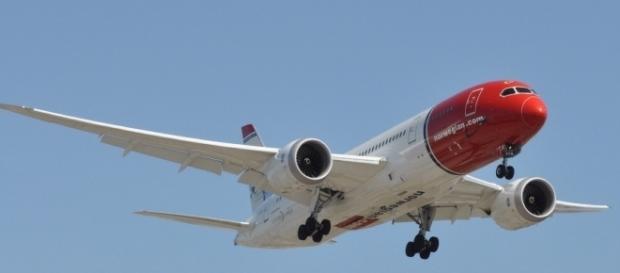 Un volo Norwegian, compagnia che presto collegherà low cost Europa e Usa