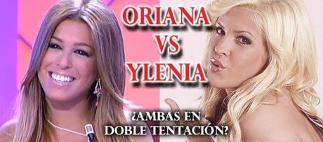 Ylenia y Oriana, dos chicas que no se pueden ver