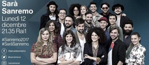 Sara' Sanremo 2017 lunedi' 12 dicembre su Rai1