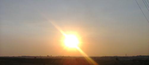 Sol - Energia limpa e eterna. (foto: Nei Oliveira)