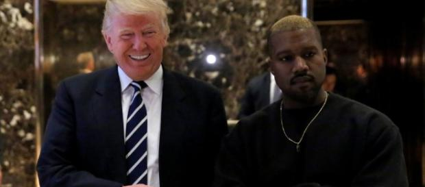Kanye West embraces Donald Trump at Trump Tower after rapper ... - thesun.co.uk