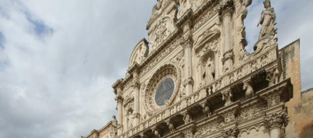 La Basilica di Santa Croce a Lecce.