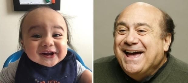 Lista de bebês parecidos com celebridades