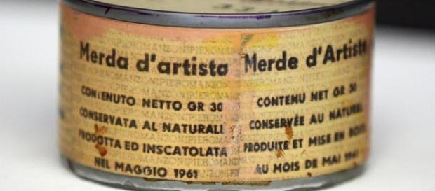Merda d'artista, Piero Manzoni, Milano, 1961
