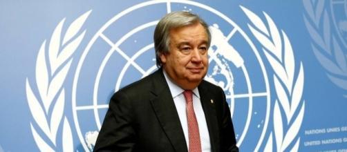 António Guterres, secretário-geral das Nações Unidas.