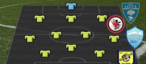 Best 11 di Lega Pro C, due leccesi nel team