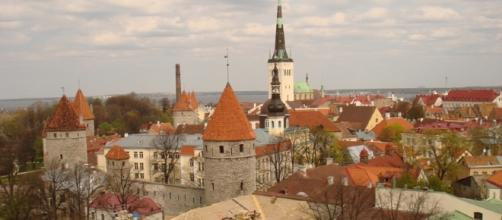 Cidade construída no período medieval.