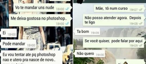 Conversas inesperadas pelo WhatsApp