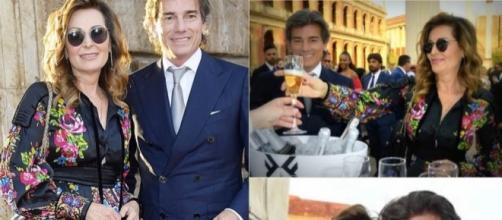 Daniela Santachè: il suo principe la fa uscire di sen(n)o ... - 361magazine.com