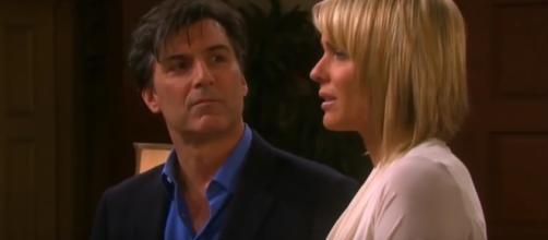 Deimos and Brady try to help Nicole on 'Days Of Our Lives' - Image via Soapy Angel/Photo Screencap via NBC/YouTube.com