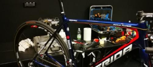 Ciclismo Vincenzo Nibali Presenta La Sua Nuova Bicicletta