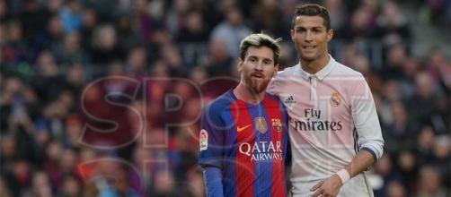 Messi y CR7 en el pasado clásico español // Sport