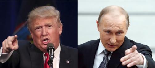 Putin ed il presidente eletto Donald Trump