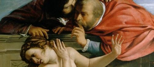 Susanna e i vecchioni - Artemisia Gentileschi