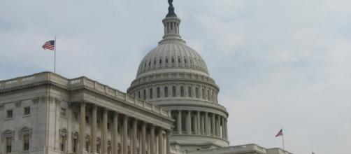 The Senate side of the United States Capitol in Washington, D.C sourced via Blasting News Library