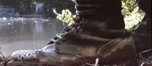 The Walking Dead :À qui appartiennent ces bottes? Ami ou ennemi ?